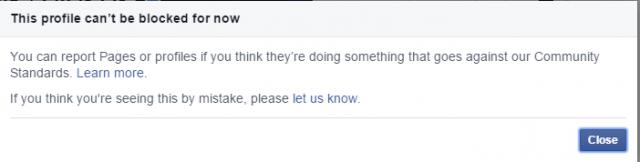 شخص واحد لا تستطيع عمل حظر له علي الفيس بوك