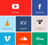 تنزيل الفيديوهات من الفيس بوك ويوتيوب وانستجرام وديلي موشن وغيرهم بسهولة الي هاتفك