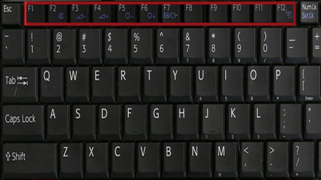 استخدامات أزرار F الموجودة في لوحة المفاتيح