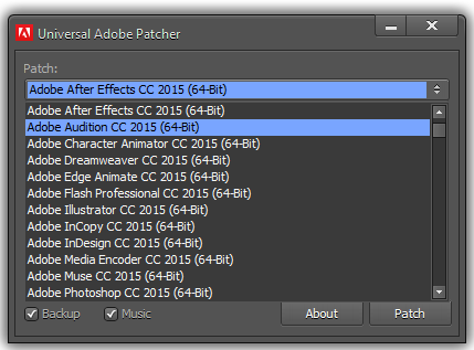 Adobe CC patch tech-box