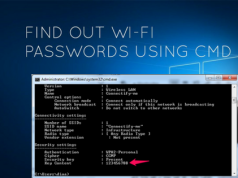 طريقة معرفة باسورد شبكات الواي فاي المتصل بها علي جهازك بدون إستخدام برامج