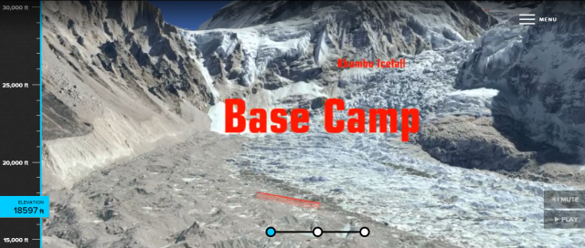 Virtual Mount Everest Climbing