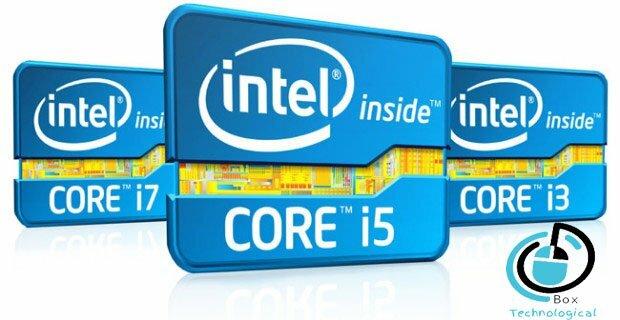 الفرق بين Core i3 Core i5 Core i7
